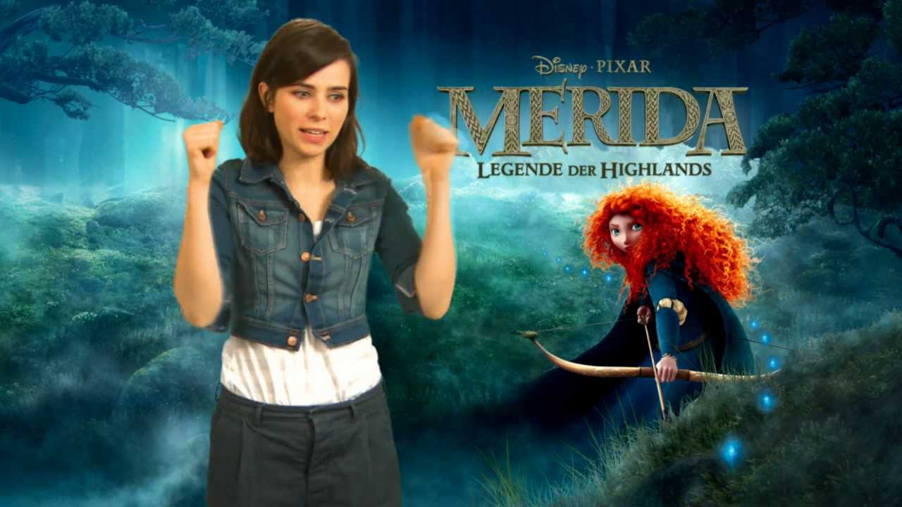 Merida Legende Der Highlands Nora Tschirner Als Merida Youtube
