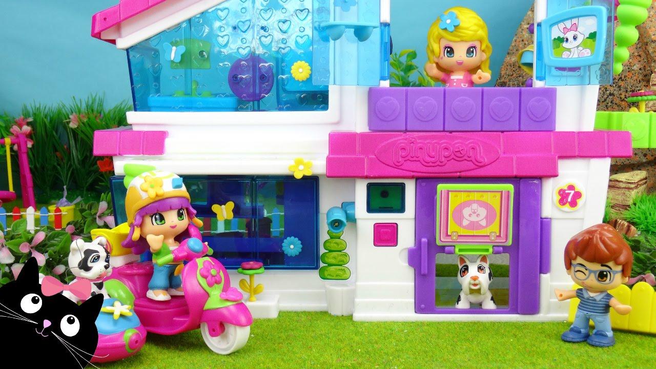 La villa pinypon juguetes pinypon v deos de juguetes for Casa de juguetes para jardin