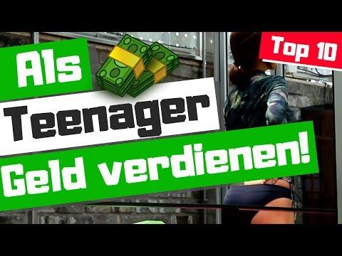 Als Teenager Geld verdienen - Leicht Geld verdienen als Schüler Geld verdienen -2018 -2019