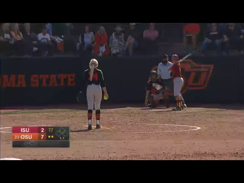 Oklahoma State Cowgirl Softball vs. Iowa State