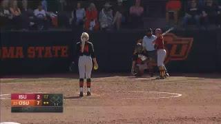 Oklahoma State Cowgirl Softball vs. Iowa State thumbnail