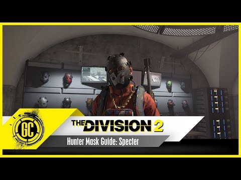 How to get the Specter Mask in The Division 2 - YouTube