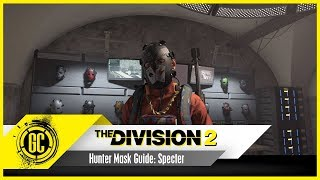 How to get the Specter Mask in The Division 2