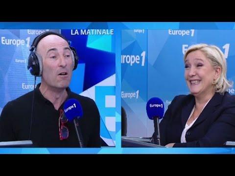 """Nicolas Canteloup - Jean-Marie Le Pen : """"Marine préfère Poupou à Papa !"""""""