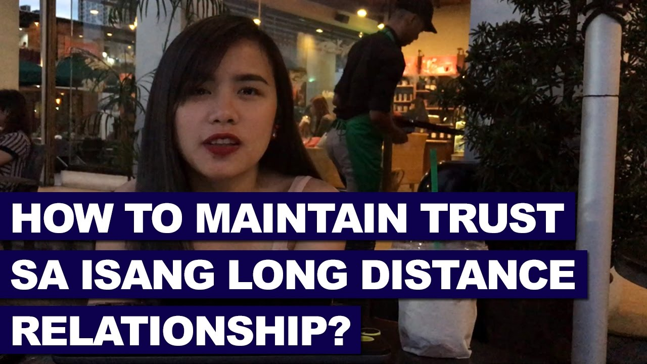 maintaining trust in a long distance relationship