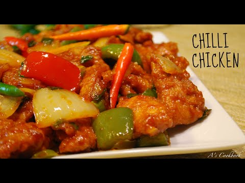 Easy Chilli Chicken Recipe (Indo-Chinese)