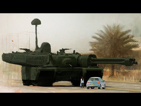 This Giant Russian Tank Will Shock You