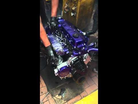 Motor Nissan td 42 turbo.