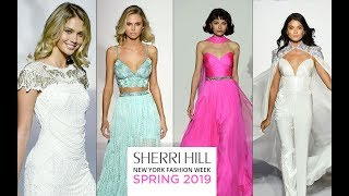 Sherri Hill Spring 2019 Dresses | NY Fashion Show February 2019