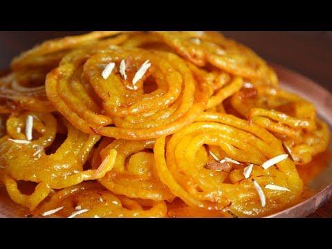 """Джалеби. Восточный десерт с лимонным сиропом. Вкуснее """"хворста"""""""