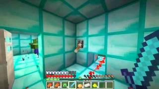 MineCraft - Прохождение карты '4 испытания'