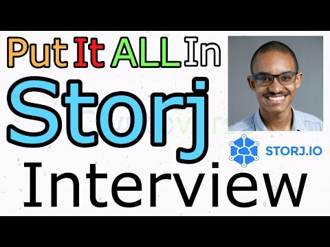 Shawn Wilkinson From Storj.io Interviewed By Chris Coney (The Cryptoverse #276)