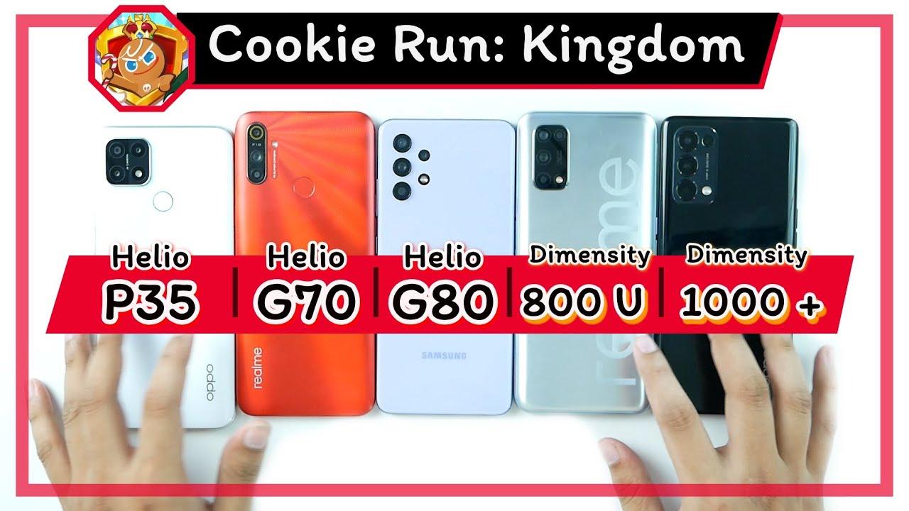 เทสเกม Cookie Run: Kingdom กับซีรีส์ Mediatek | Snap ที่ว่าแน่ ยังแพ้ Mediatek !!