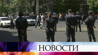 В Ереване возобновились уличные демонстрации, в центре города опять начали собираться люди.
