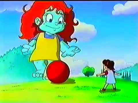 dragon tales pooky traped the friends and play with emmy ball