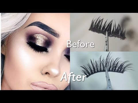 HOW I DEEP CLEAN MY FALSE LASHES! | Emma Fleming
