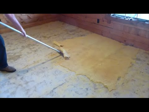 How We Strip And Prep A Concrete Floor You