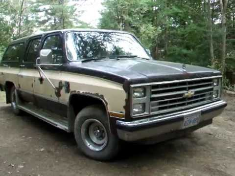 1986 Chevrolet Suburban Silverado 6 2 Sel Sold