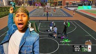 Demigod Shot Creator Stretch Big! NBA 2K19 MYPARK! I GOT THE BEST JUMPSHOT ON NBA 2K19