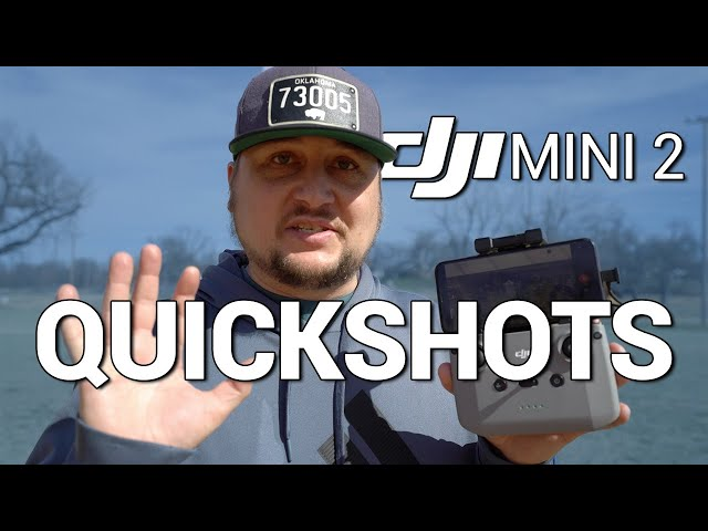 DJI Mini 2 / QUICKSHOTS Tutorial & Demo