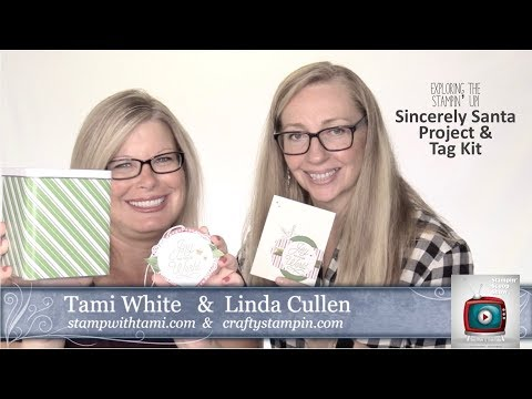 Stampin Scoop #64 - Sincerely Santa Project Kit