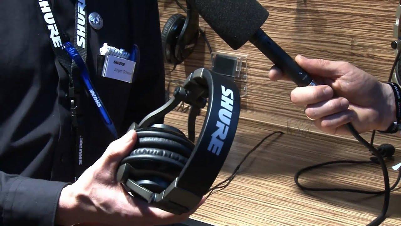 Musikmesse 2011 Shure SRH 550 DJ Kopfhörer - YouTube ea6292f78c4c