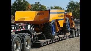 Heavy Haul TV: Episode #586 -- Atlas Copco MT426 Mine Truck