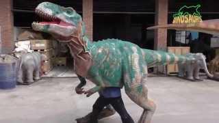Geli Hati Dinosaur Boneka,Berjalan Dinosaur Kostum untuk Dijual