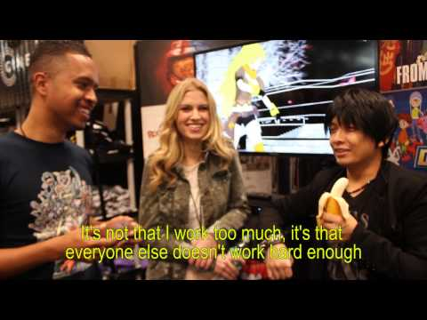 Rooster Teeth RWBY Interview with Barbara, Monty, and Kerry NYCC 2014