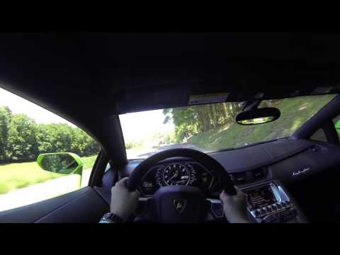2012 Lamborghini Aventador LP700-4 POV Test Drive