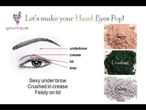 How To Make Hazel Eyes POP!! Best eye colors for hazel eyes! - YouTube