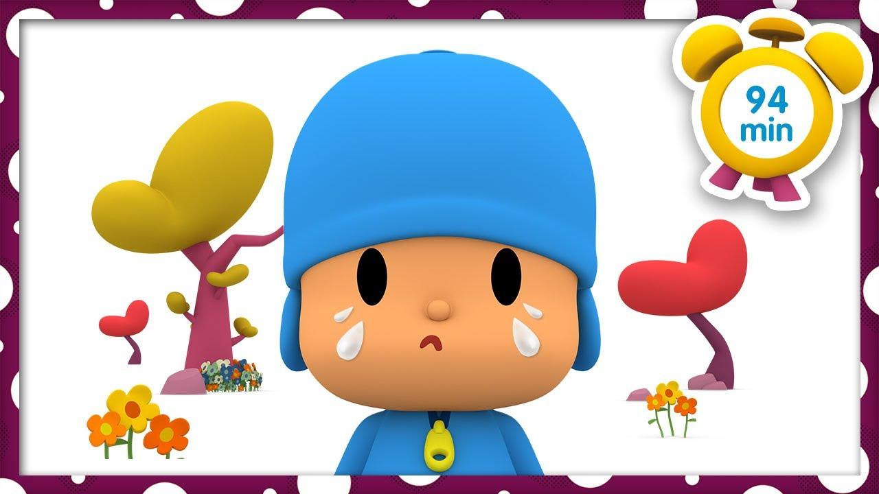 💞POCOYO in ENGLISH - Feeling: ☺️ Happy Or Sad 😢 [94 min] Full Episodes   VIDEOS & CARTOONS for KIDS