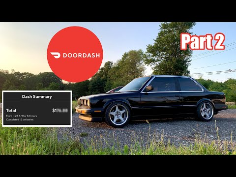 Download ANOTHER Day of DoorDash In My 515 WHP Turbo E30 (Part 2)