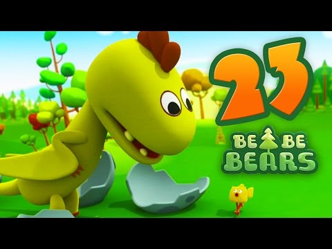 Bjorn and Bucky - Be Be Bears - Episode 23 - Kids cartoon - Moolt Kids Toons Happy Bear
