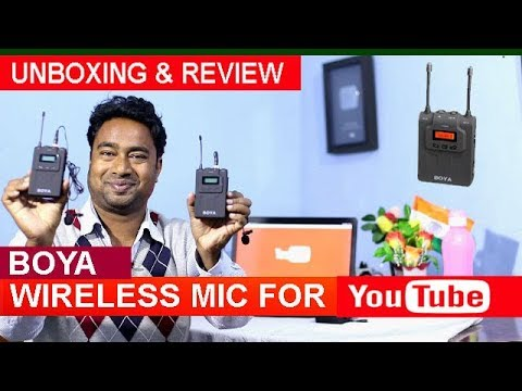 Boya Wireless 2 Microphone System for DSLR ! Best for Interview , Prank & Funny Video Creators
