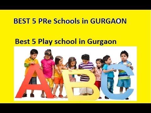 Best 5 pre schools in Gurgaon, Gurugram