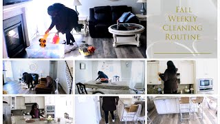 Fall Ultimate Clean With Me;  Extreme Deep Cleaning