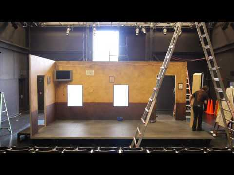 Scenic Changeover   Wagner New Play Festival 2017