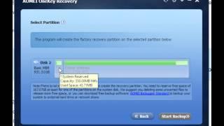 AOMEI OneKey Recovery v1.2