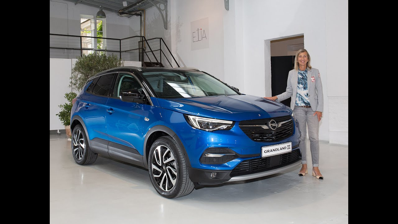 Interieur Less Is More A Bord De L'opel Grandland X (2017) - Youtube