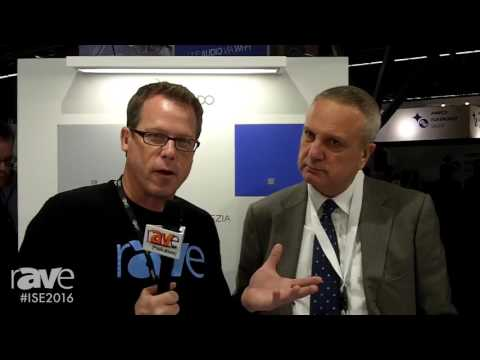ISE 2016: Gary Kayye Interviews Francesco Miorin of Tutondo About Audio Products