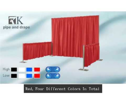 RK Pipe And Drape Sales Promotion