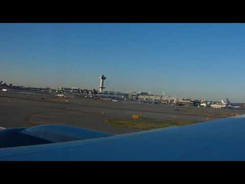Departing from JFK Airport, New York Sep 2017