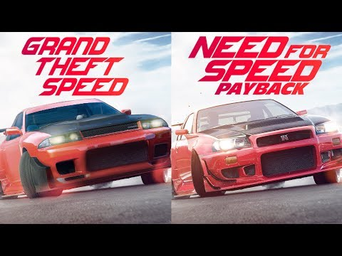 Need for Speed Payback Trailer GTA 5 Remake Side by Side