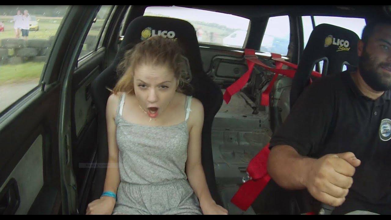 ის, რის გამოც Drift გვიყვარს - გოგონების გიჟური რეაქციები (ვიდეო)