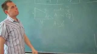 Repeat youtube video Matematik: Brug sinus, cosinus og tangens