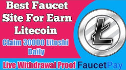 The Best Faucet of Ltc 2020 | Station ltc Earn Free | Instant Payout Faucetpay