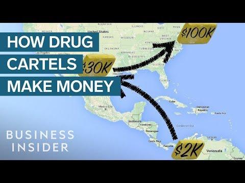 How Mexico's drug cartels make billions