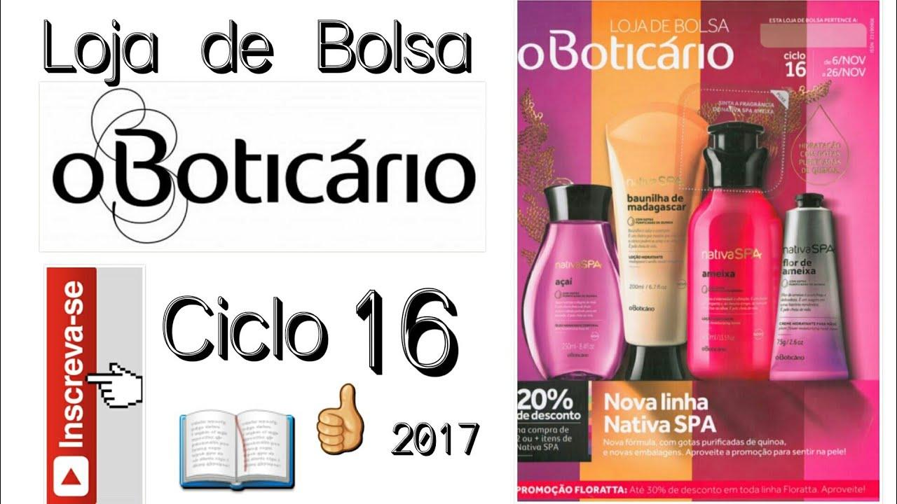 a94d1b904d671 Revista - Loja de Bolsa O Boticário Ciclo 16 2017