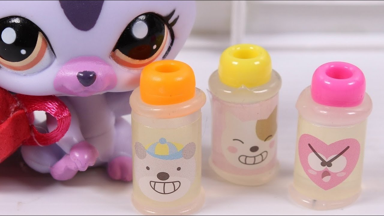 DIY miniature Doll water Bottles ~ LPS and dolls - YouTube